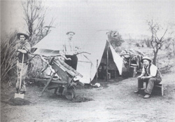Prospector's camp early 1900's (E.Snell)