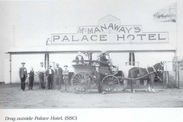 Old Postcards - Palace Hotel